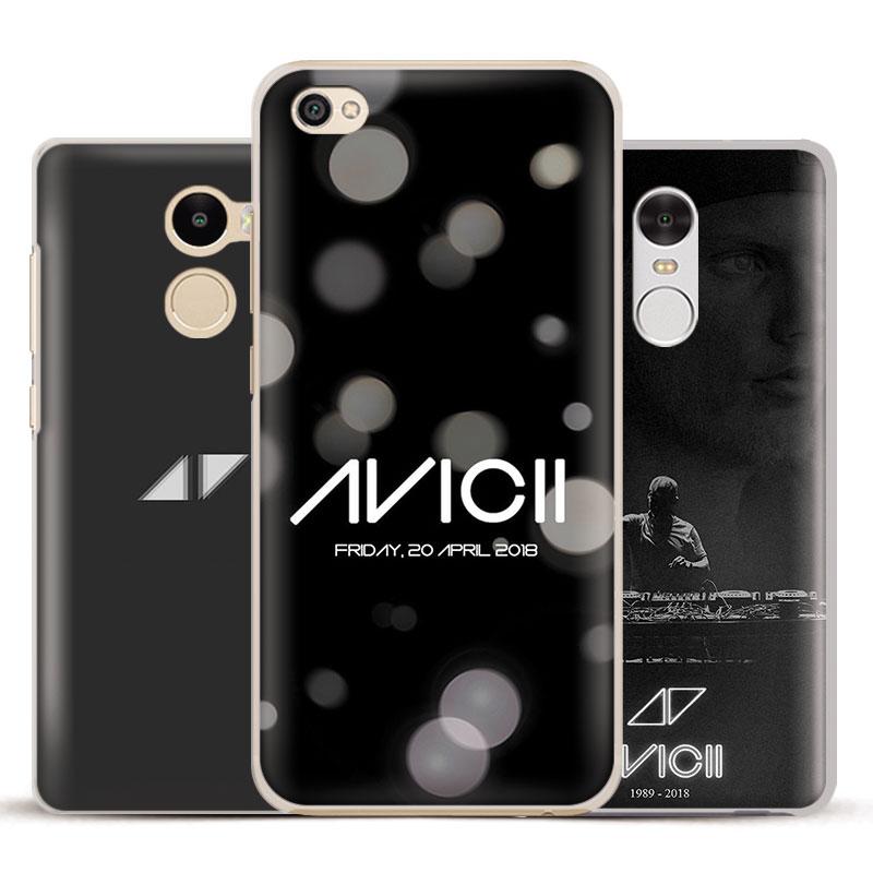 DJ Avicii Tim Bergling RIP Phone Case Shell Cover For Xiaomi Redmi Note 2 3 4 4X 5A Pro Mi 5 5S Plus 5X 6 MiA1 Minote 2 3