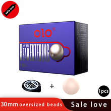 OLO 1PCS Bead Condoms Penis Condom Extender Reusable Ball Sleeve Intimate Goods Head Attachment Tip On the Massager