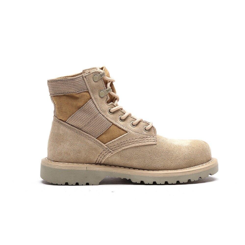 Otto 남자 팔라듐 스타일 2018 높은 정상 군사 발목 부츠 캐주얼 캔버스 신발 편안한 가죽 모피 부츠 크기 39 48-에서남성용 경화 신발부터 신발 의  그룹 2