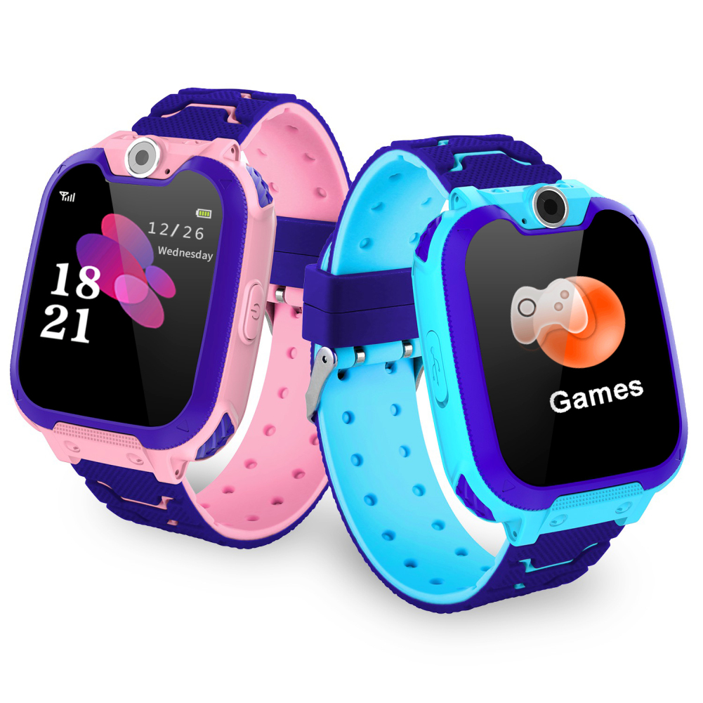 Wearable Devices Smart Watches Centechia Q12 Smart Watch Baby Children Watch Gps Phone Multifunction Digital Waterproof Wristwatch For Ios Android Kids Toy