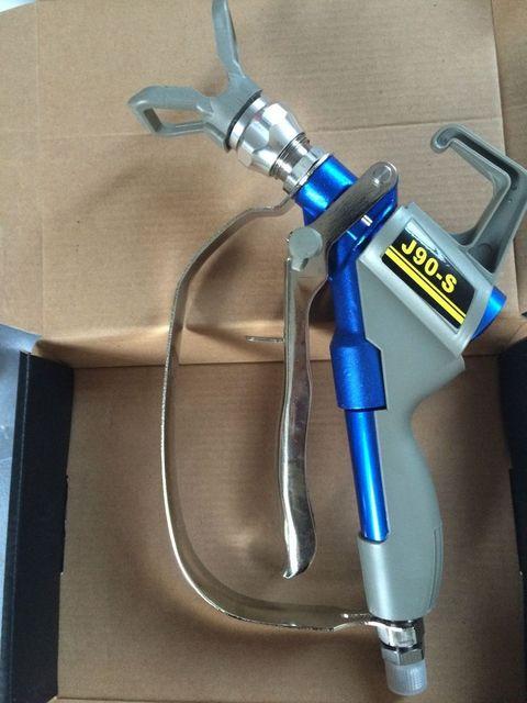 Electric putty spray gun texture airless sprayer painting gun epoxy