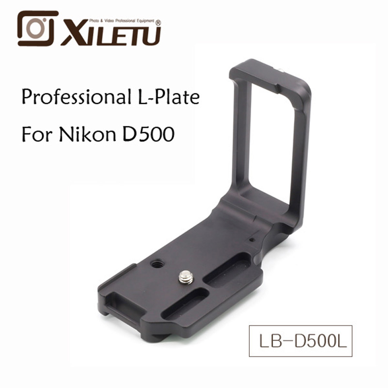 US $47 32 48% OFF|Xiletu Black Metal LB D500L Universal Quick Release Plate  with 1/4