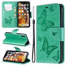 PU Leather Flip Case on For iphone 7 Case Mobile Phone For iphone 6 7 8 Plus X XR XS Max Funda Wallet Cover bag Phone Coque цена