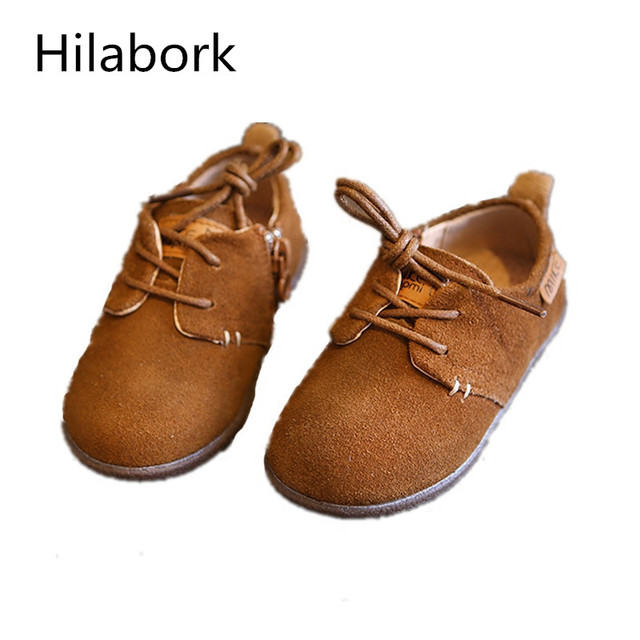 2017 Spring and Autumn new frosted skin baby single shoes leather female children shoes  Princess leisure shoes 1-3 years old