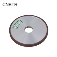 CNBTR 150mm Dia Aluminum Resin Diamond Flat Disc Grinding Wheel Grit 150 Cutting Tool