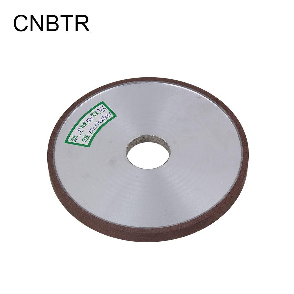 CNBTR 150mm Dia Aluminum Resin Diamond Flat Disc Grinding Wheel Grit 150# Cutting Tool