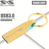 Suntrsi USB Flash Drive 8 GB/32 GB/16 GB 3.0 Pendrive de Metal Para PC de alta Velocidad de la Unidad Flash 64 gb con Llavero Stick Envío gratis