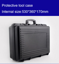 530*360*170mm plastic Tool case toolbox suitcase Impact resistant Instrumentation box Car storage box equipment camera case(China)