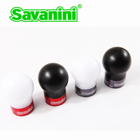 Savanini Car High quality Aluminum alloy Gear Shift Knob with UPE For Honda Fit GK5/Civic/City MT Cars Cool style