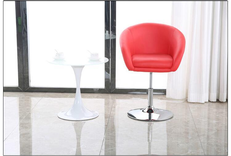 Hotel Lobby Chairs Business Office Company Stool Free Shipping Red Black  Color Free Shipping