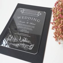 Buy Acrylic Wedding Invitation And Get Free Shipping On Aliexpresscom