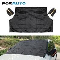 Forauto 자동차 커버 sun shade frost 스노우 아이스 쉴드 그늘 마그네틱 윈드 스크린 하프 사이즈 윈드 실드 sunshades protector mat|바람막이 양산|자동차 및 오토바이 -