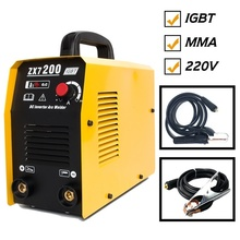 ZX7-200 220V  Tosense ARC Welding Machine MMA IGBT Welder DC Inverter Welding Machine 200A Soldering Tool Free Consumables