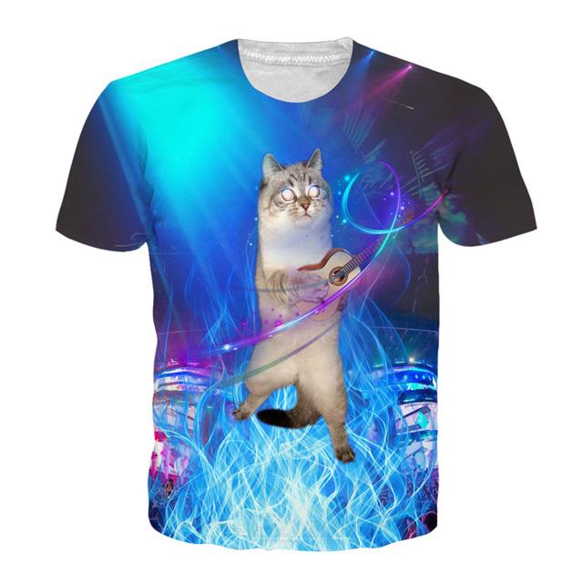 3D Print Cat T-shirt