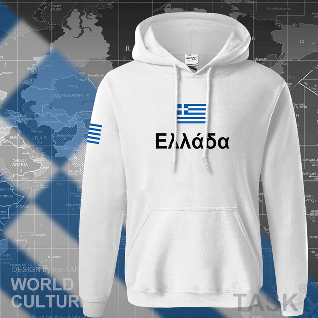 Greece hoodies men sweatshirt sweat new hip hop streetwear socceres jerseyes footballer tracksuit nation Greek flag Hellas GR 4