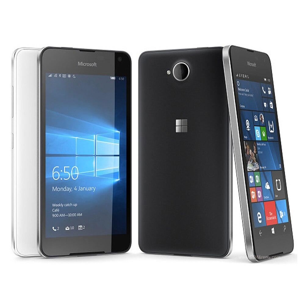 Original New Nokia Microsoft lumia 650 Rm-1154 EU version 4G Mobile Phone Dual SIM 5 inch Quad Core 1GB RAM 16GB ROM 8MP Phone