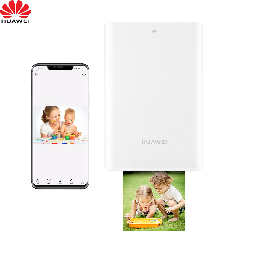 NEW! JEPOD Original Huawei Portable Photo Printer Bluetooth 5.1 AR Zink Colorful 300dpi 500mAh For  Recording Life