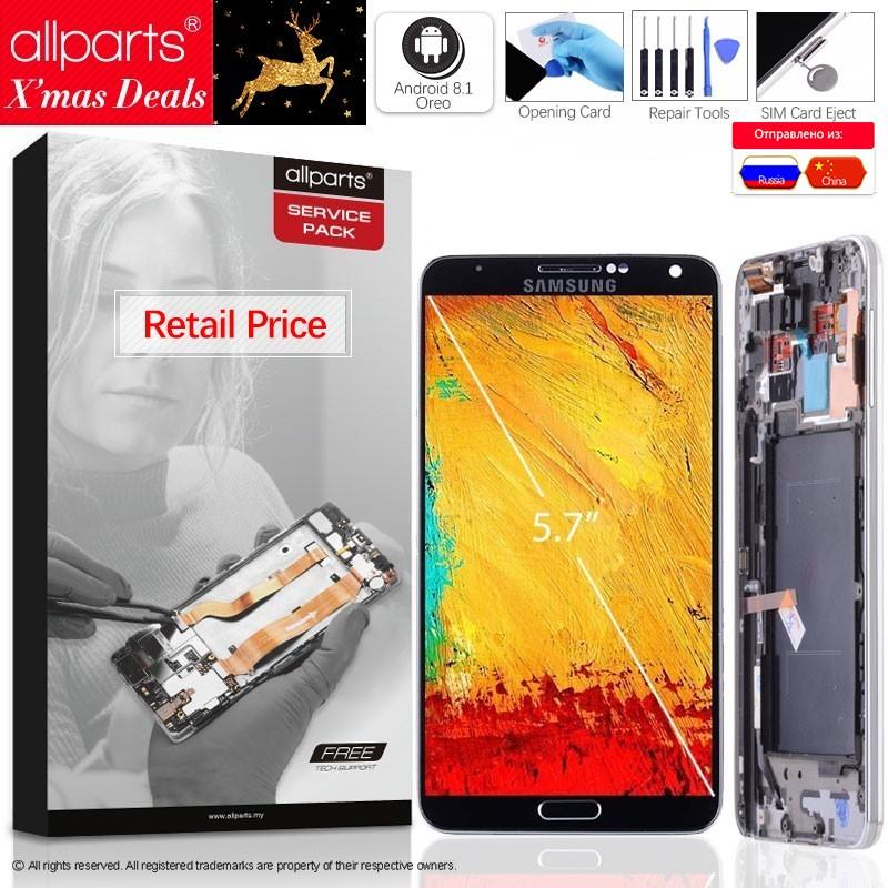 5.7'' AMOLED Оригинальный тачскрин дисплей экран дляSAMSUNG Galaxy Note 3 сенсорный дисплей Оригинал LCD с тачскрином в рамке замена запчасти Note3 N9005 N9002 N9006 ...