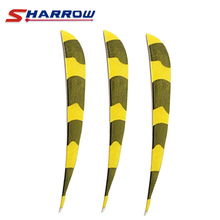 40Pcs Archery Arrow Feather 5inches 6 Colors for Choice Water Drop Snake Turkey accessories