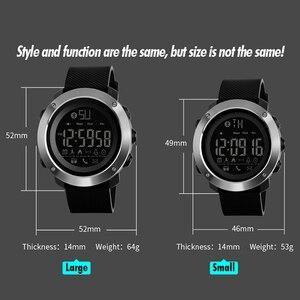 Image 4 - SKMEI אופנה Bluetooth ספורט שעונים גברים נשים דיגיטלי שעון זוג הודעה שיחת תזכורת מזדמן אלקטרוניקה זכר שעון reloj