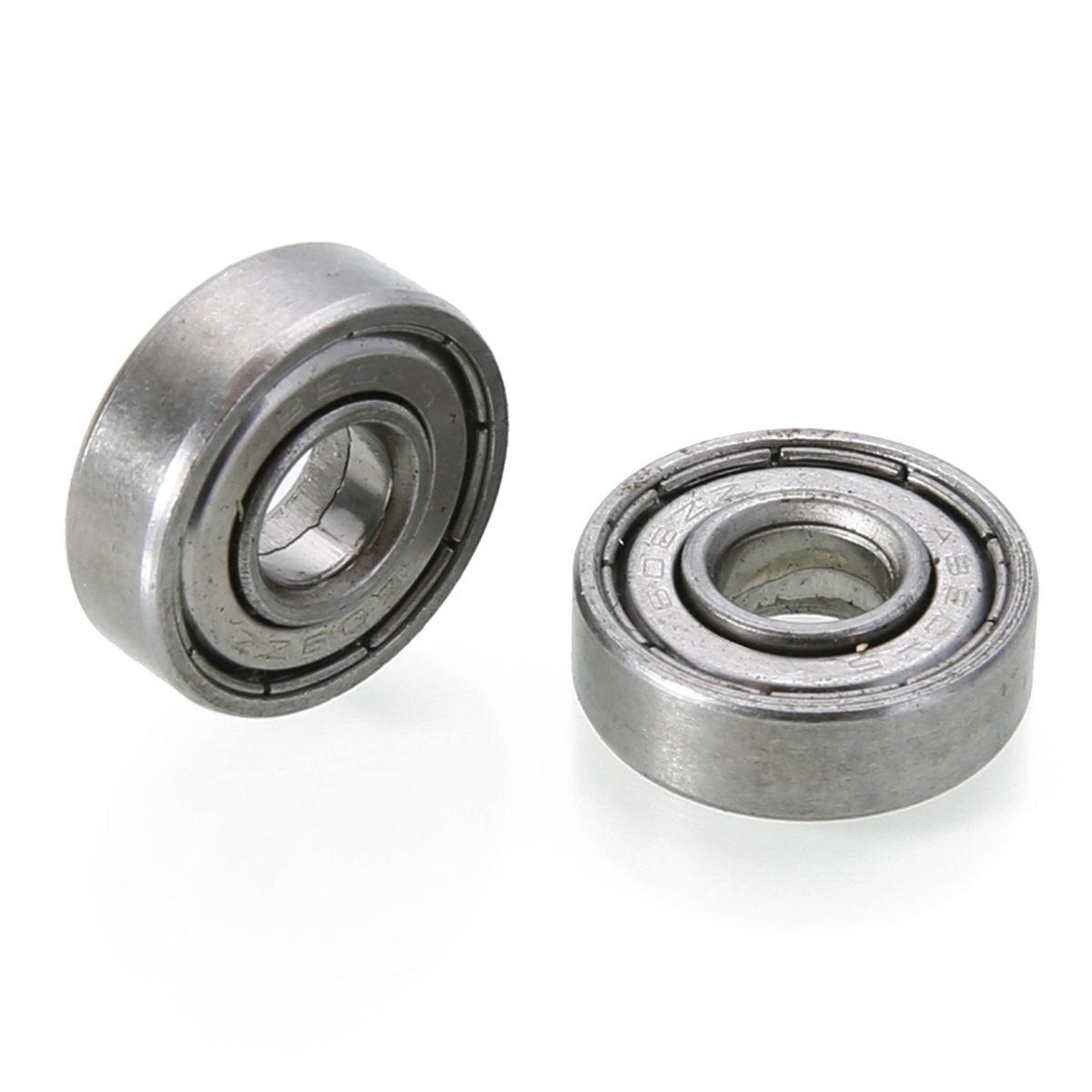 10pcs Small Wear 608zz Ball Bearing Mayitr Carbon Steel Precise Deep Groove Bearings For Skateboard Roller Blade Scooter серьги