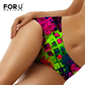 FORUDESIGNS Hot Sale New Sexy Panties For Women Underwear Seamless Panties Ice Silk Material Safety Panties Plus Size Sexy Lady