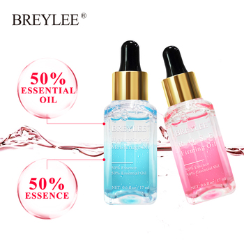 BREYLEE 2PCS Hyaluronic Acid Essential Oils Whitening Serum Rose Firming Essence Moisturizer Nourish Facial Skin Care