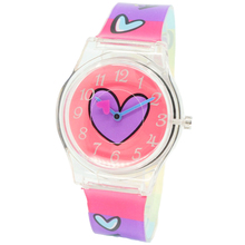 WILLIS Fashion wristwatch Harajuku Style Color Silicone Band Watch Women Simple Popular Korea Style Student Casual Quartz Clock