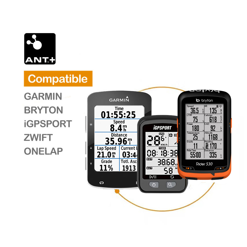 MAGENE Computer speedometer ANT+ Speed and Cadence Dual sensor bike speed and cadence ant+ Suitable for GARMIN iGPSPORT bryton