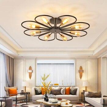 Modernas luces de techo LED novedosas luminarias para el hogar lámparas de techo para sala de estar accesorios para niños iluminación de techo para dormitorio