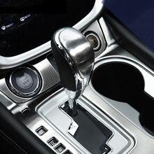 Внутренняя металлическая ручка переключения передач накладка молдинг для NISSAN MURANO- аксессуары для стайлинга автомобилей