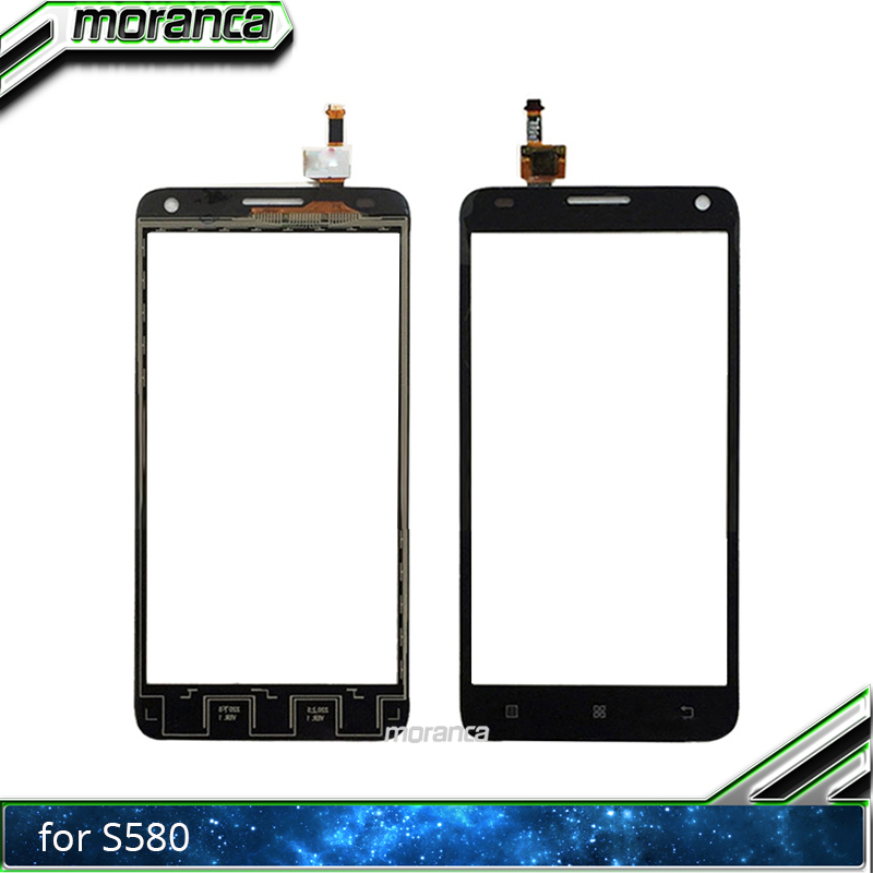 moranca 5.0 Touchscreen for Lenovo S580 S 580 Touch Screen Front Glass Digitizer Panel Lens Sensor Black Replacement Partsmoranca 5.0 Touchscreen for Lenovo S580 S 580 Touch Screen Front Glass Digitizer Panel Lens Sensor Black Replacement Parts