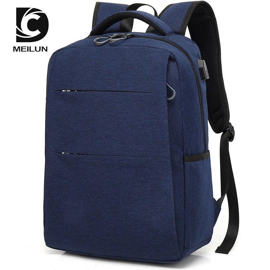 2018 USB sac à dos 15.6 pouces sac à dos pour ordinateur portable pour femmes hommes école sac à dos sac pour garçon filles mâle voyage Mochila