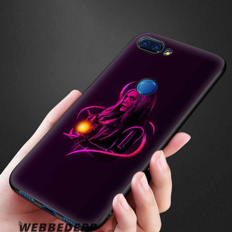 Webbedepp Scarlet Witch Marvel Soft Case untuk Xiaomi 9 8 Se 6 A1 A2 Lite MIA1 MIA2 Lite MI8 MI6 max 3 Pocophone F1 Cover