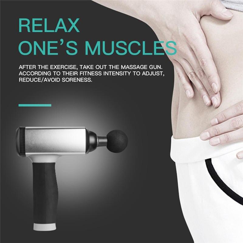 Tissue Massage Spier Stimulator Spier Pijn Geïntegreerde Fitness Management Training Oefenen Body Ontspanning Fascia Spier Pistool