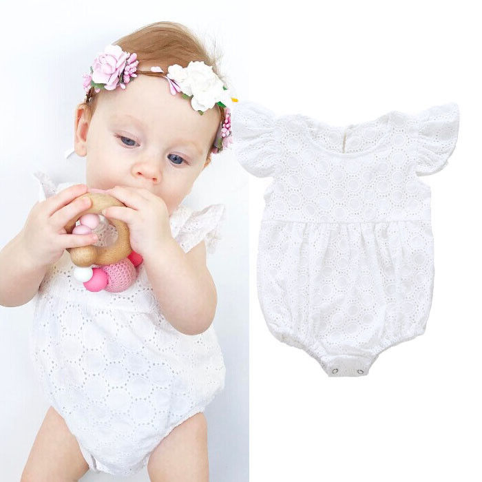 Summer Newborn Baby Girl Floral Romper Jumpsuit Outfits Sunsuit baby girl clothes bodysuit Clothes