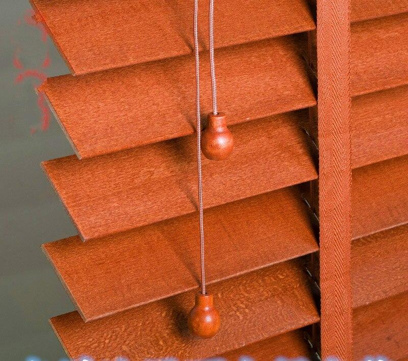 respetuoso del medio ambiente de madera persianas de madera sala de estar dormitorio de madera persianas