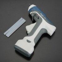 Pro'sKit GK 368 Hot Melt Glue Gun Battery Cordless hot glue gun+ 3pcs 7mm Sticks For DIY Model Living Craft Block Gine LED