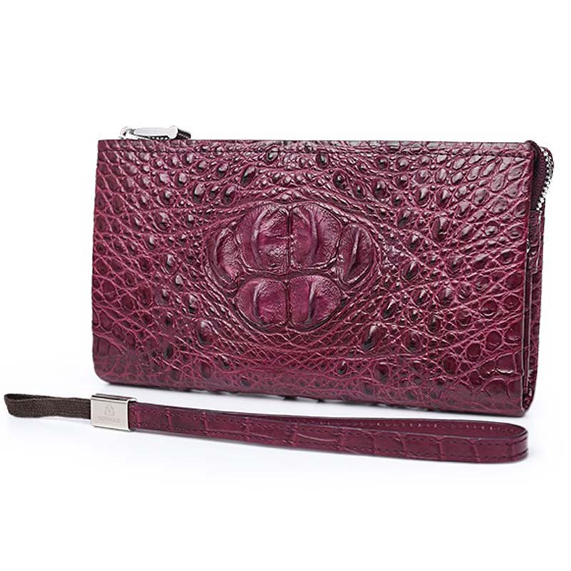 Gete 2107 new crocodile leather wallet leather long female wallet zipper bag crocodile handbag hand bag куплю литые диски в крыму на ваз 2107