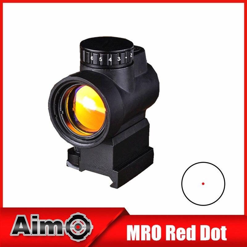 Aim-O MRO Visori Portata del Fucile Ottica Red Dot con QD Riser/Low Montaggio AO5087Aim-O MRO Visori Portata del Fucile Ottica Red Dot con QD Riser/Low Montaggio AO5087