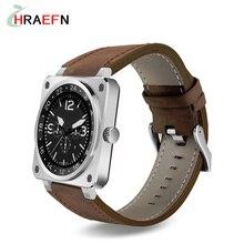 Hraefn Smart Watch US18 reloj inteligente mtk2502c Smartwatch heart rate monitor Sports bluetooth wristwatch for IOS android