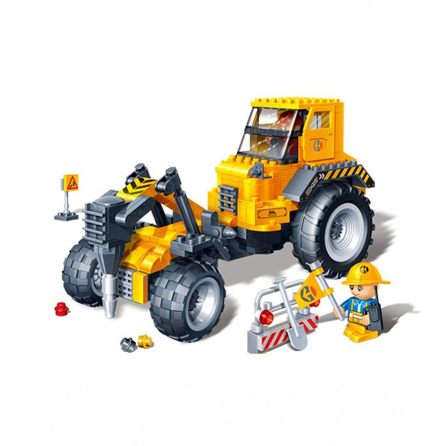 Конструктор для детей BANBAO Строительная техника 8537