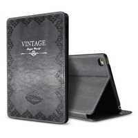 Solque Retro Vintage Leather Flip Smart Cover For IPad Pro 10 5 2017 Tablet Case Luxury