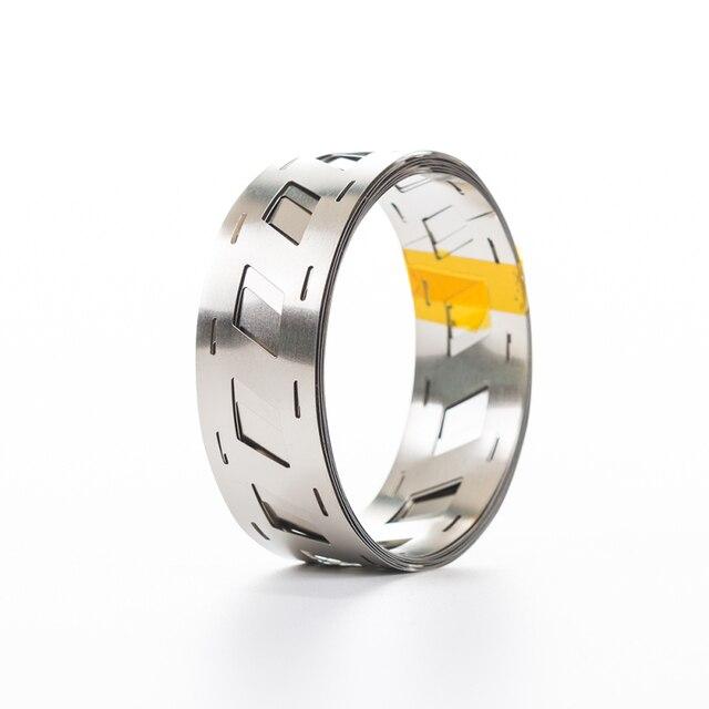18650 Battery Pure Nickel Strip 18650 Cell Nickel Tape Nickel Belt For 18650 Battery Holder 0.15*23.02*18.5mm