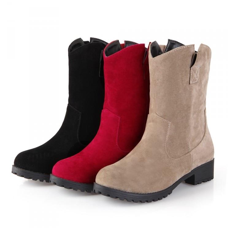 Фото 2017 Sale Boots Botas Mujer Shoes Women Boots Fashion Motocicleta Mulheres Martin Outono Inverno Botas De Couro Femininas 7337