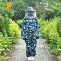 Beekeep suit Protective Beekeeping Jacket Veil Suit Smock Beekeeping Equipment Combinaison Apiculteur FREE SHIPPING