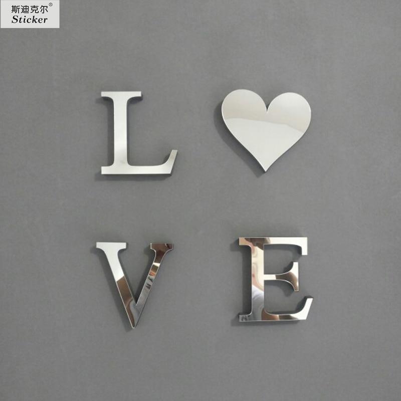 Aliexpress 10cmx8cmx1cm Thick Wedding Love Letters Home