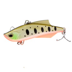 Image 2 - WLDSLURE 1PC Sinking Vibration Fishing Lure Hard Plastic Artificial VIB Winter Ice Fishing Pike Bait Tackle Isca Peche