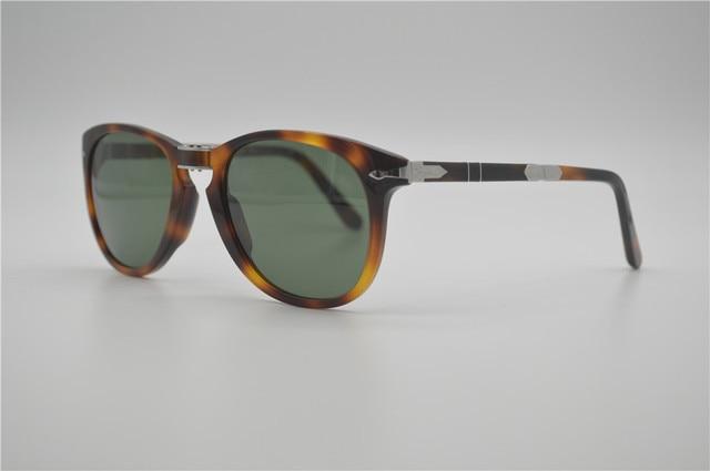 b6e2e87c3a Free shipping high quality famous brand eyeglasses EyeGlow persol 714  sunglasses for men glass lens folding Retro sunglasse