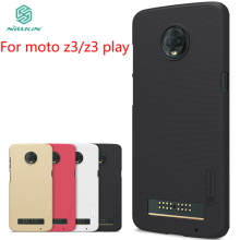 For Motorola moto z3 z3 play Case NILLKIN Pc Hard Case For Motorola moto z3 z3 play Fitted Cases Super Frosted Shield термопаста deepcool z3 шприц 1 5г [silvertim z3 r]